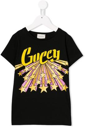 Gucci Kids stars logo print T-shirt