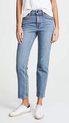 Alexander Wang Denim x Cult Cropped Straight Leg Jeans