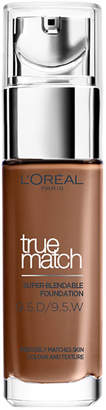 L'Oreal Paris True Match Foundation 30ml (Various shades) - 9.5W Mahogany