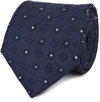 Reiss Mason Silk Textured Tie