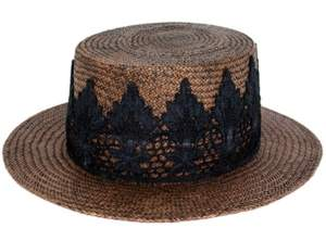 Peter Grimm Petra Boater Hat