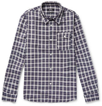 A.P.C. Sterling Checked Twill Shirt
