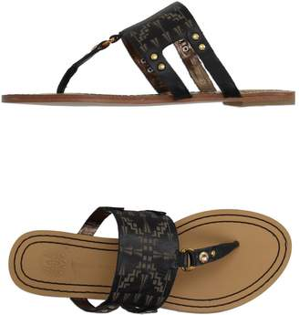 Cynthia Vincent Toe strap sandals