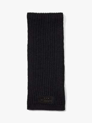 John Varvatos Thermal Wool Scarf