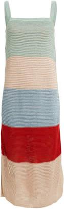 SUBOO Lucy Striped Knit Sleeveless Dress