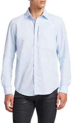 G Star Long Sleeve Button-Down Shirt