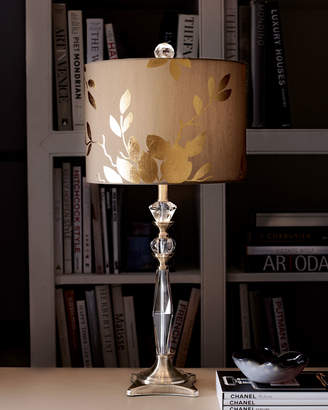 Horchow Golden Leaf Table Lamp