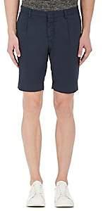 Pt05 Men's Cotton Poplin Shorts-Navy Size 38