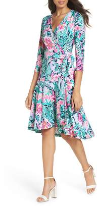 Lilly Pulitzer R) Rozaline Wrap Dress