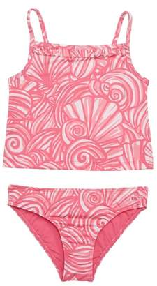 Vineyard Vines Shell Two-Piece Tankini Swimsuit