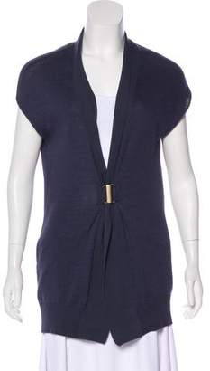 Brunello Cucinelli Sleeveless Knit Cardigan
