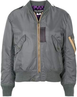 Junya Watanabe zipped bomber jacket