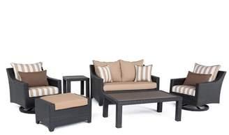 Three Posts Northridge 6 Piece Sunbrella Sofa Set with Cushions