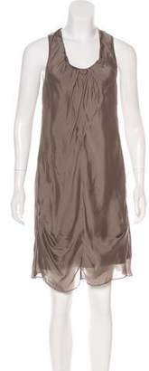 Brunello Cucinelli Sleeveless Mini Dress