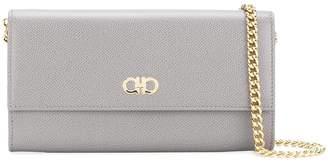 Salvatore Ferragamo mini Gancini wallet-on-chain bag