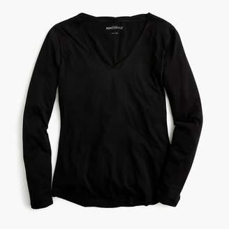 J.Crew Factory Long-sleeve twisted trim tissue T-shirt