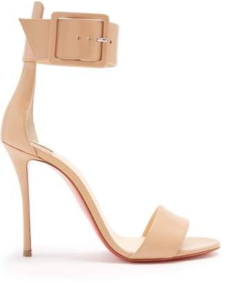 Christian Louboutin Blade Runana 100 leather sandals