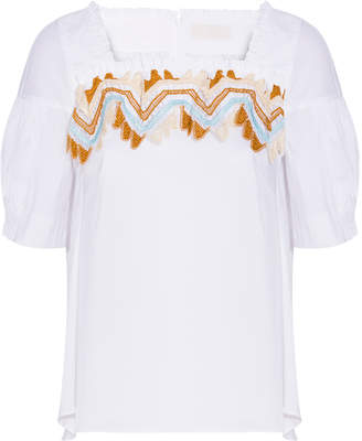 Peter Pilotto Cotton Lace Top