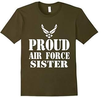Proud Air Force Sister Military Veteran T-shirt