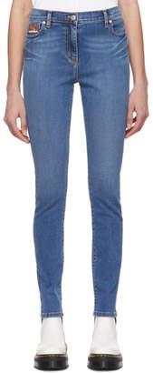 Kenzo Blue Skinny Jeans