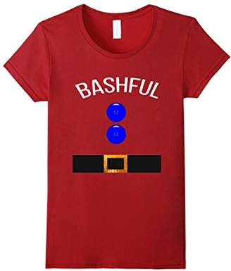 Funny Bashful Costume T Shirt Gift Novelty