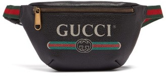 Gucci Vintage Logo Cross Body Bag - Mens - Black