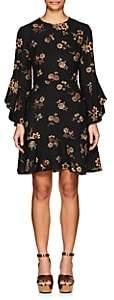 A.L.C. Women's Cassidy Floral Silk Crepe Dress - Black
