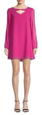 BCBGeneration Cut-Out Shift Dress