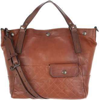 Frye Leather Samantha Quilted Shoulder Bag