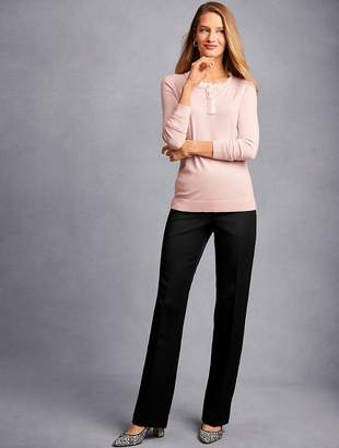 Talbots Refined Bi-Stretch Barely Boot Pants