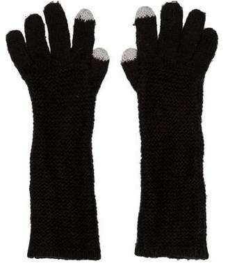 Rebecca Minkoff Knit Long Gloves