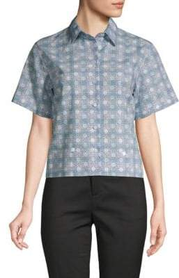 Dolce & Gabbana Polka Dot Button-Down Shirt