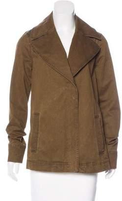 A.L.C. Acid Wash Long Sleeve Jacket