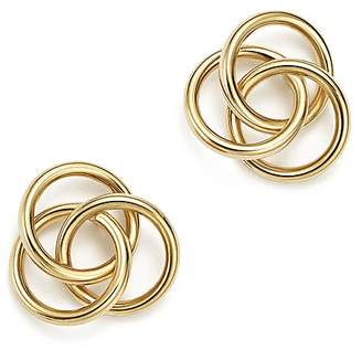 Bloomingdale's 14K Yellow Gold Large Love Knot Stud Earrings - 100% Exclusive