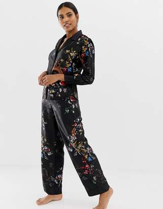 Ted Baker Opulent Fauna Pajama Pant