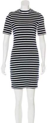 Alexander Wang Velvet Striped Dress