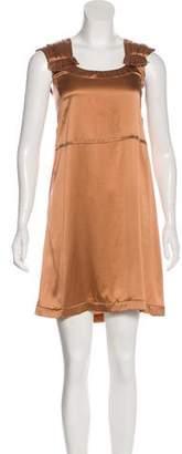 Miu Miu Sleeveless Silk Dress