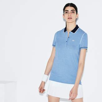 Lacoste (ラコステ) - 『ROLAND GARROS』 ストレッチ ミニピケ ポロシャツ (半袖)