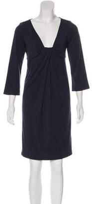 Diane von Furstenberg Wool Knee-Length Dress