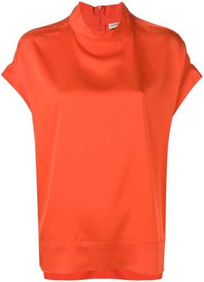By Malene Birger boxy high neck T-shirt