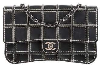 Chanel Surpique Square Quilt Flap Bag
