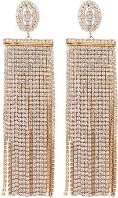 Jardin Crystal Fringe Earrings