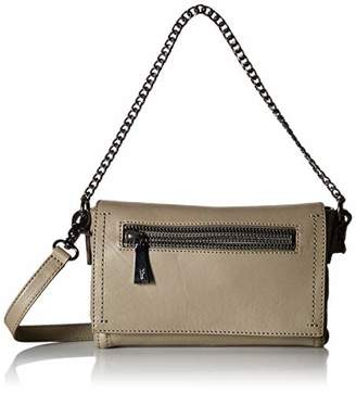 Frye Lena Chain Zip Leather Crossbody Bag