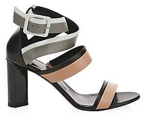 Pierre Hardy Women's Alpha Leather Sandals