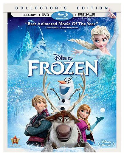 Disney Frozen (Two-Disc Blu-ray / DVD + Digital Copy)