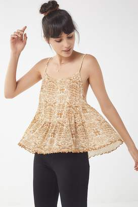 Urban Outfitters Fearne Floaty Babydoll Cami