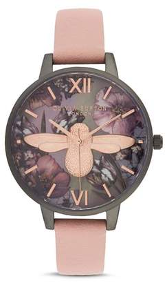 Olivia Burton Twilight Lilac Mother-of-Pearl Watch, 34 mm