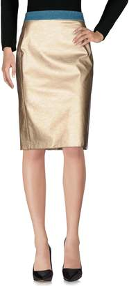 Maliparmi Knee length skirts - Item 35374275LF