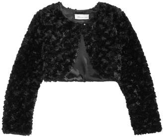 Bonnie Jean Toddler Girls Faux Fur Shrug