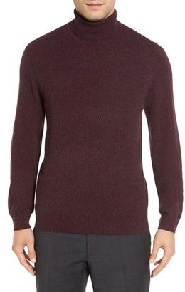 Men's Nordstrom Men's Shop Cashmere Turtleneck Sweater $160 thestylecure.com